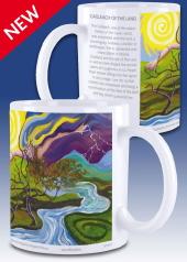 Cailleach of the land - mug
